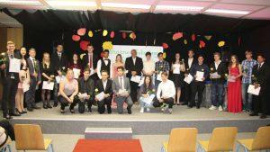 Glückwünsche für Schulabgänger